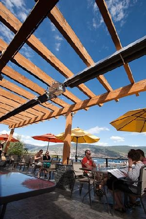 Local Lounge's patio on a warm summer's day