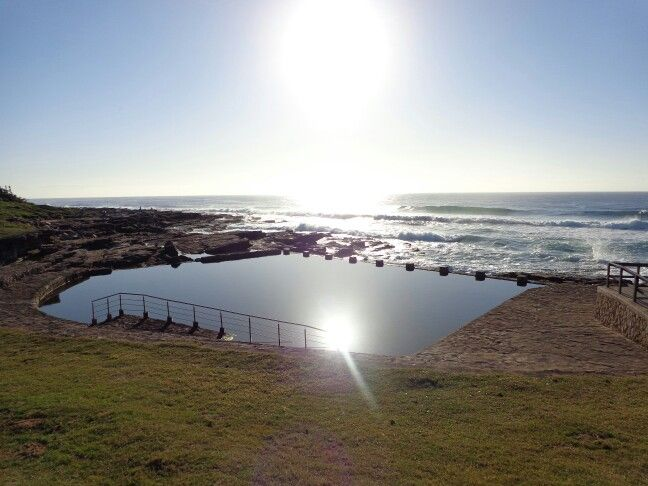 Uvongo beach front South Africa