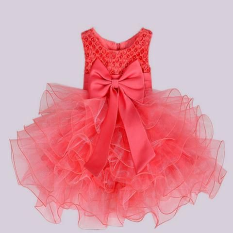Multi-Tiered Lace Flower Girl Special Occasion Dress
