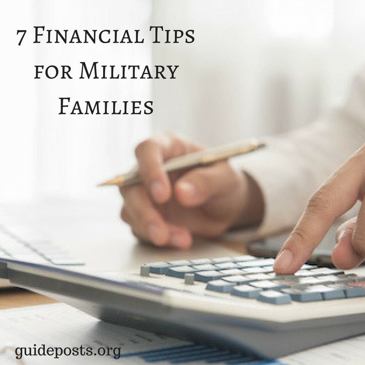 7 Financial Tips for Military Families: How to plan a budget and savings campaign for victory