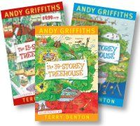 Andy Griffiths is one of Australia's most popular children's authors. He has written more than 20 books, including nonsense verse, short stories, comic novels and plays. Over the last 15 years Andy's books have been New York Times bestsellers, won more than 50 children's choice awards, been adapted as a television cartoon series and sold more than 5 million copies worldwide.