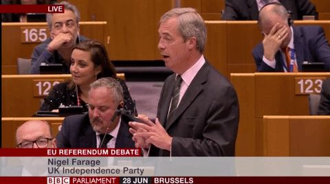 Farage's 'Victory' Speech Prompts Facepalms All Round