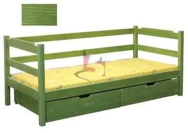 łóżko drewniane - LEONKA 5materace - internetowy sklep z materacami