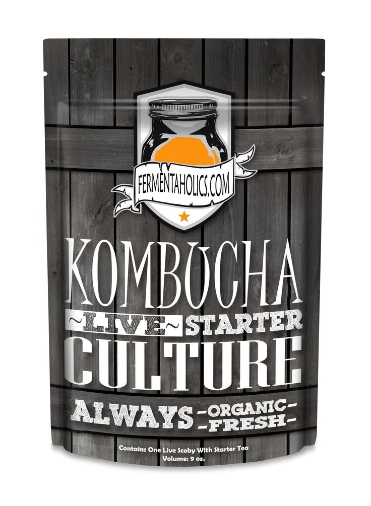 Organic Kombucha Scoby – Live Culture – Free Shipping!
