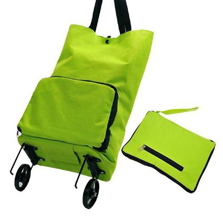 Folding Shopping Trolley Bag Cart Rolling on Wheels Grocery Tote Handbag Travel #Unbranded #ShoppingBag
