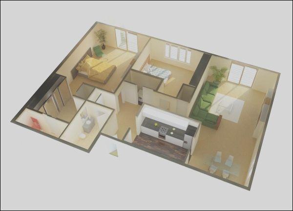2 Bedroom Apartment House Plans Desain Rumah Kecil Denah Lantai Rumah Denah Rumah