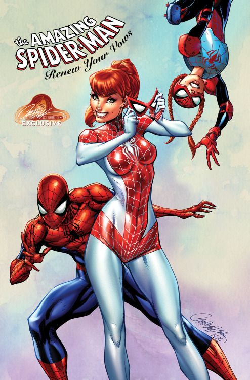 The Amazing Spider-Man: Renew Your Vows #1 Variant - J. Scott Campbell