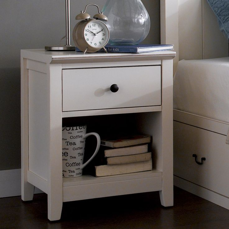Alyssa Night Stand comes in aged effect look. It contemporary style will suitable match with your elegant home interior