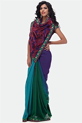 Sarees -The one dress that does not have a size and can fit you any time