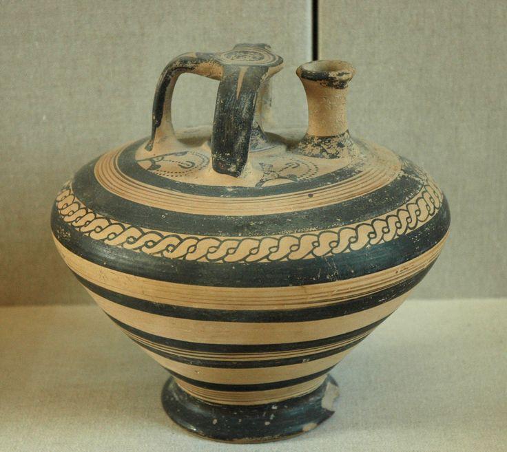 Storage Vessel Stirrup Jar Fs 182 Bella Mycenaean
