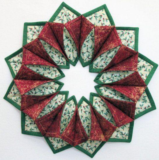 Www Fotoventasdigital Com Diy Burlap Wreath That Folding: 17 Best Images About Fold 'n Stitch Wreath On Pinterest