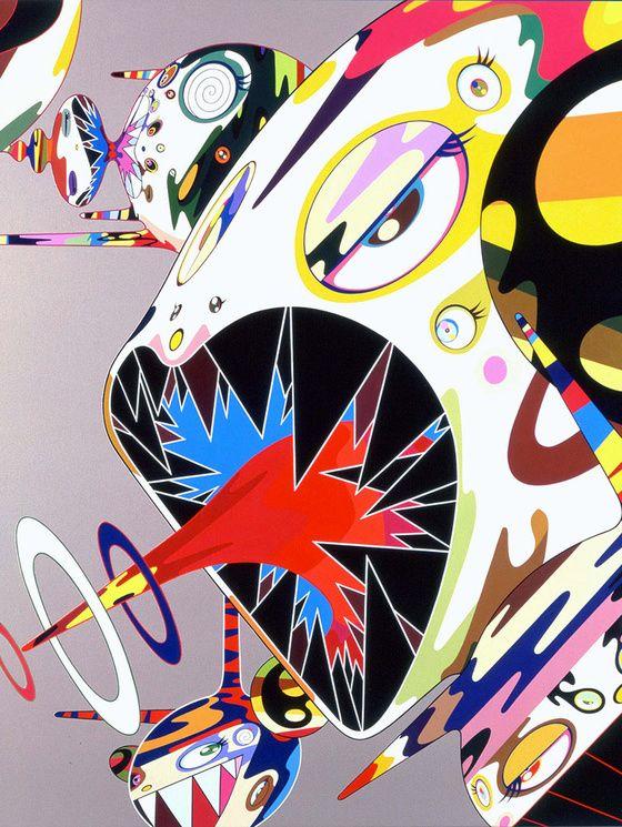 Takashi Murakami, Homage to Francis Bacon