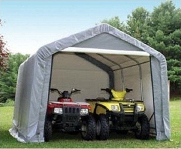 Portable Carport With Shed : Best portable carport kits images on pinterest