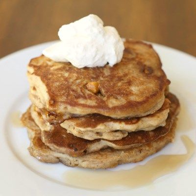 Oatmeal Scotchie Pancakes