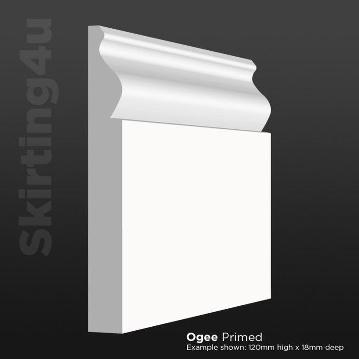 Ogee Skirting Board- Quality MDF Skirting Boards by Skirting4U