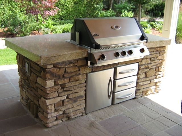 contemporary kitchen: Recommendations for outdoor kitchen grills ...