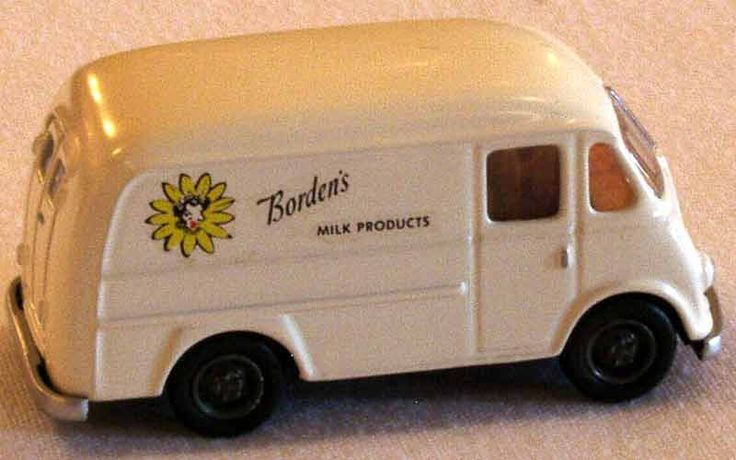 Borden's Milk International Metro Stepvan