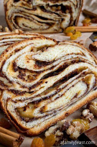 Beautiful Cinnamon Babka Bread Recipe - Homesteading  - The Homestead Survival .Com