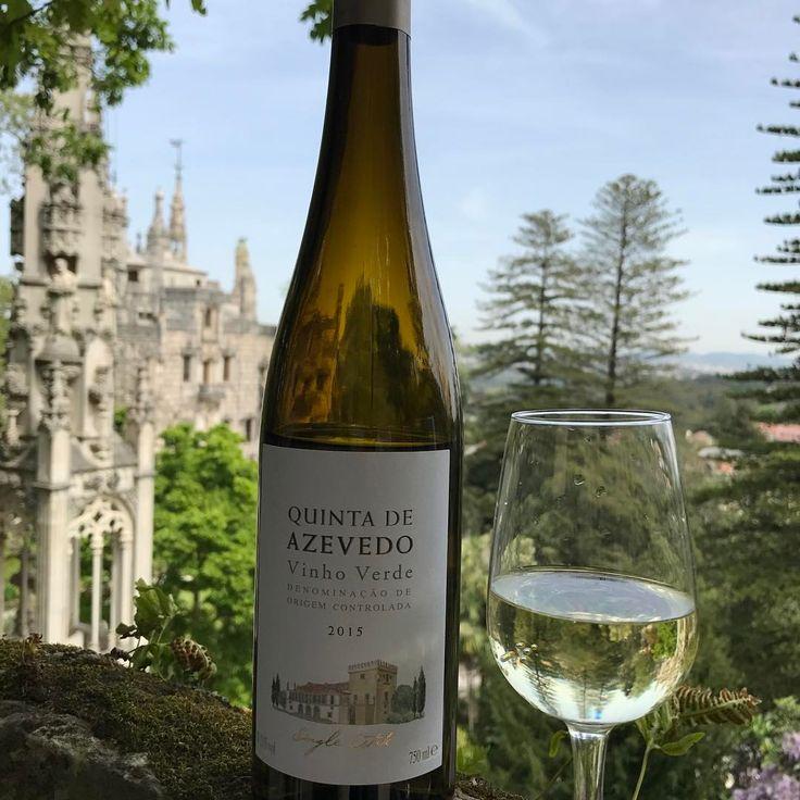 "143 Likes, 4 Comments - 💃🏽WineGirl (@perthwinegirl) on Instagram: ""Vinho Verde with a Quinta view🤗 Cheers 🥂"""