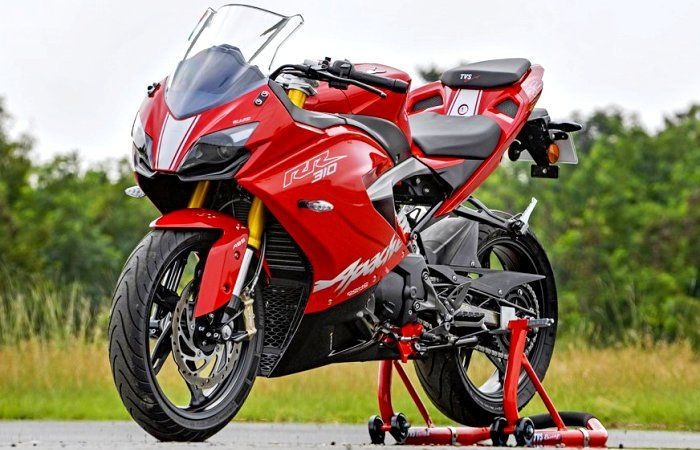 TVS Motor Company has launched the first Super Premium Motorcycle Apache RR 310 made in partnership with BMW Motoradd. #TVSMotor #SuperPremiumMotorcycle #ApacheRR310 #BMW #ChennaiNews #NationalNews #IndiaNews #ChennaiUngalKaiyil