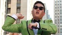 South Korean rapper Psy performs his massive hit Gangnam Style live on NBC's Today show, Friday, Sept. 14, 2012, in New York. (Jason DeCrow /AP)