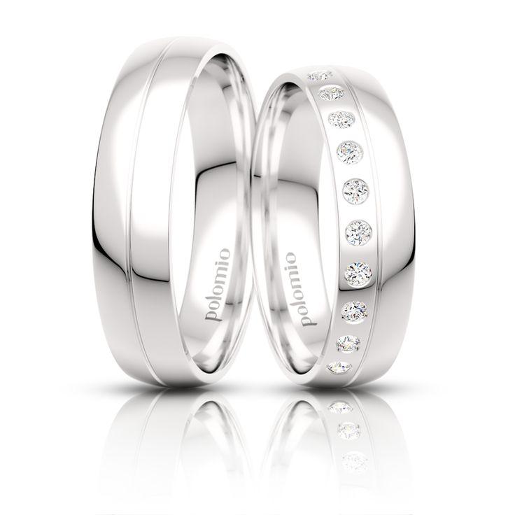 Snubní prsten Mio 5-01 Polomio Jewellery
