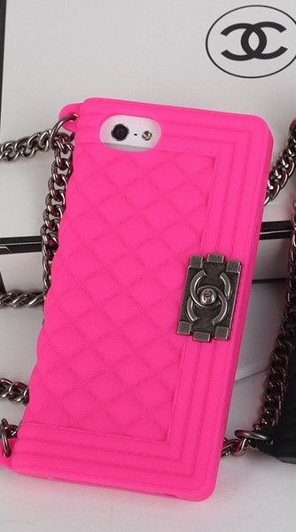 CHANEL Hot Pink iPhone Case                                                                                                            .:JuSt*!N*cAsE: