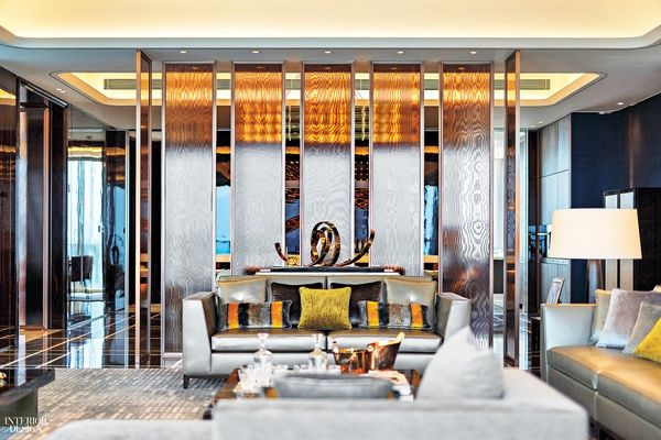 Steve Leung Designers Thinks Big For A Model Apartment At One Shenzhen Bay Lobby Design Design Residential Interior