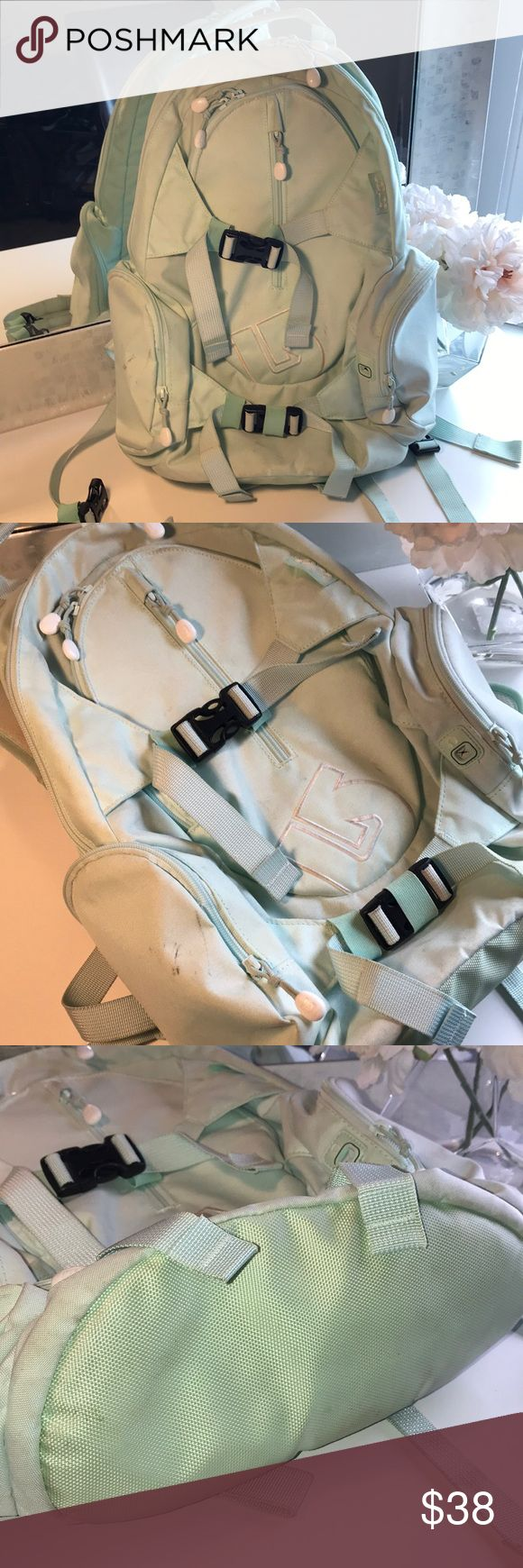Burton women's teal backpack A few scuffs otherwise in very good condition Burton Bags Backpacks