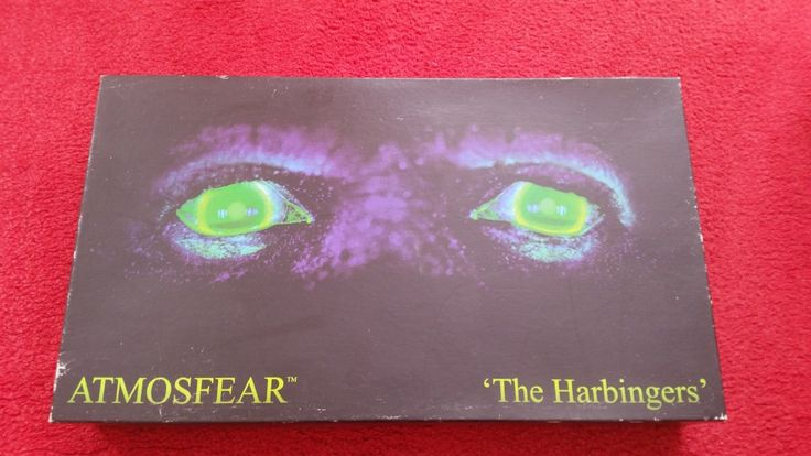 Atmosfear the harbingers (1995) #video vhs #board game vintage #retro spear's gam,  View more on the LINK: http://www.zeppy.io/product/gb/2/172450453795/