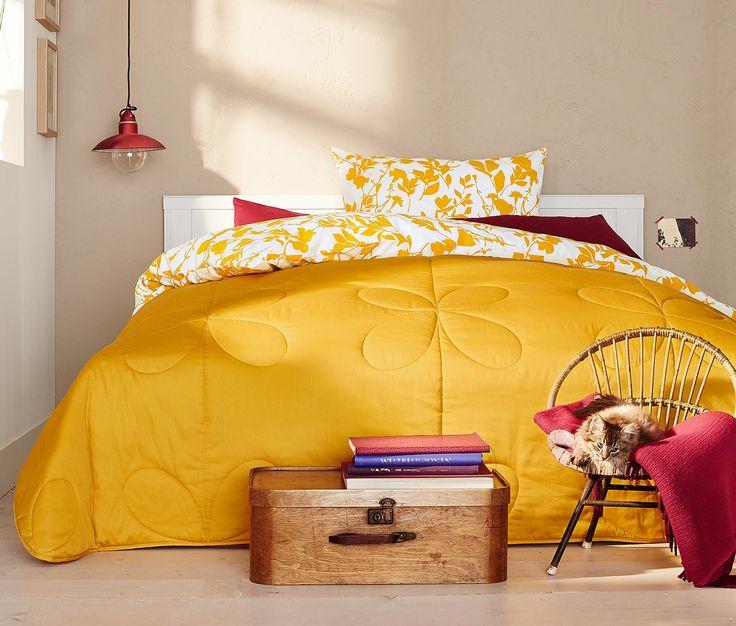 Die besten 25+ Bettüberwurf Ideen auf Pinterest Wolldecke - tagesdecke fur bett 25 wunderschone beispiele