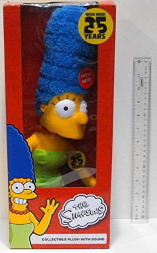 Simpsons Marge 25th Anniversary Collectible Plush with Sound @ niftywarehouse.com #NiftyWarehouse #Geek #Gifts #Collectibles #Entertainment #Merch