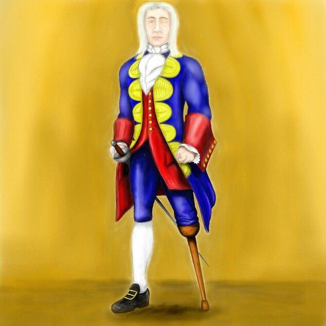 Blas de Lezo,  idealizado de super héroe.