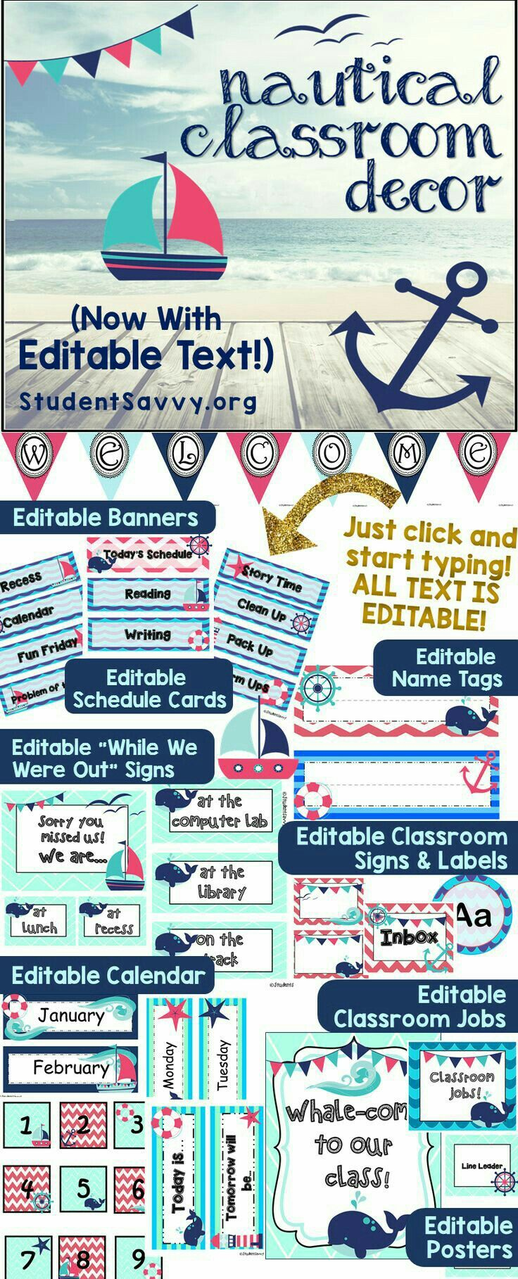 Classroom Design And Organization ~ Best images about nautical theme classroom decor on