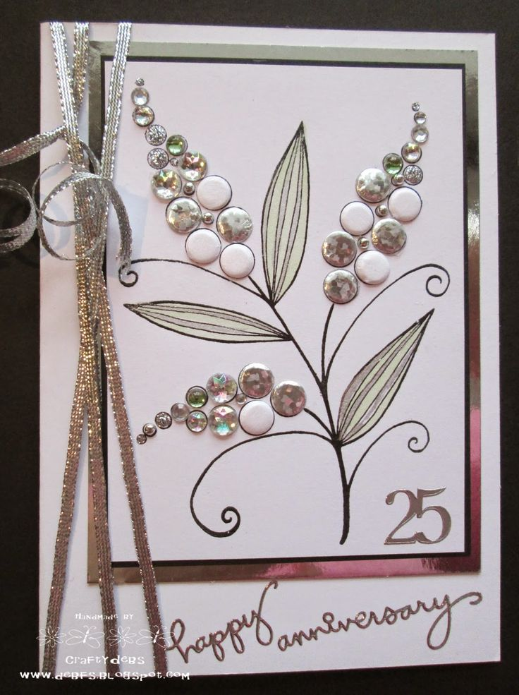 Crafty Debs: Silver Wedding
