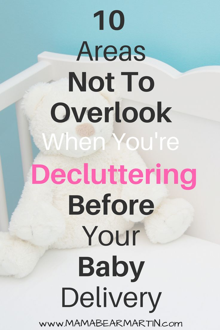 You've been in nesting mode. You've cleaned just about every surface imaginable, but did you overlook these 10 places to clean before your baby delivery? | Decluttering | Spring Cleaning | Nesting Tips | Preparing For Baby | Minimalism | MamaBearMartin.com