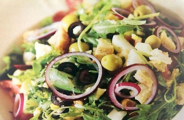 Recept voor hardlopers. Klik op de afbeelding voor deze heerlijke salade.