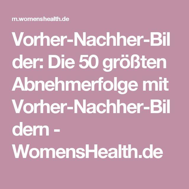 Vorher-Nachher-Bilder: Die 50 größten Abnehmerfolge mit Vorher-Nachher-Bildern - WomensHealth.de