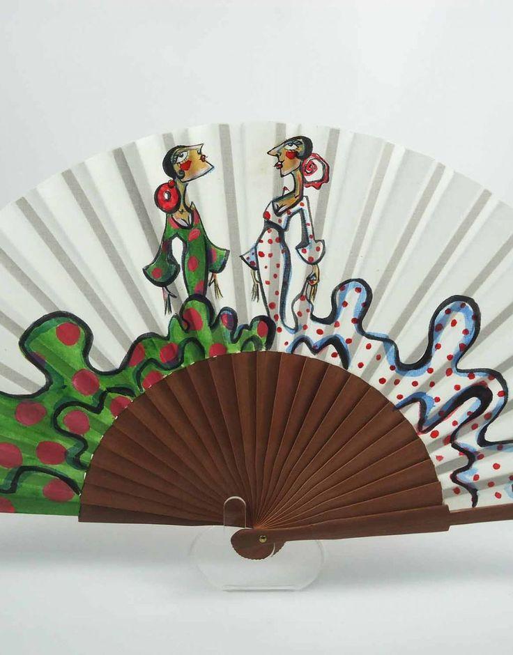 abanico de carmen encinas hispania flamenco
