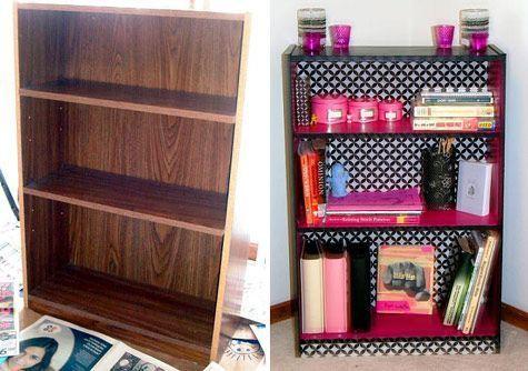 Cheap shelves makeover