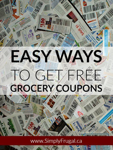 Where to get food coupons