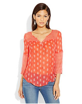 Cute top from Lucky.