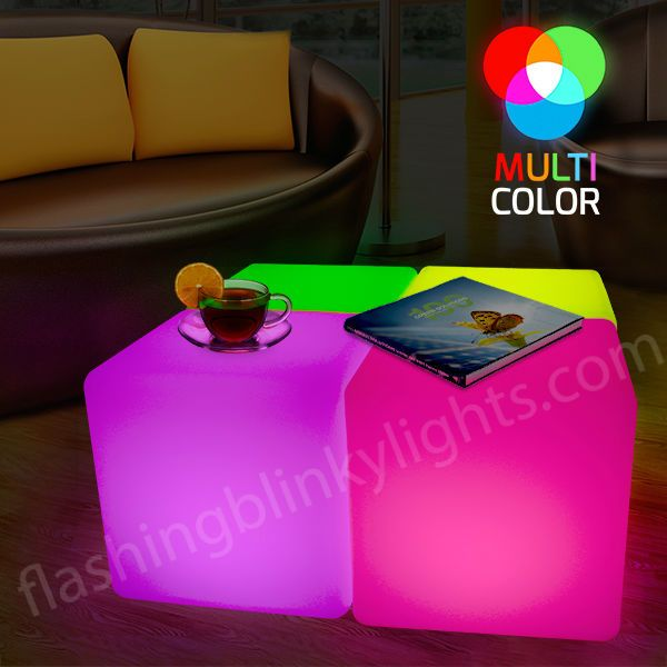 Love Our Rechargeable LED Light Cubes With Remote Control For Simple Color  Changing. Put 4