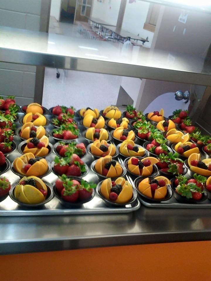 Meigs Middle School rocking FRESH FRUIT! #realschoolfood
