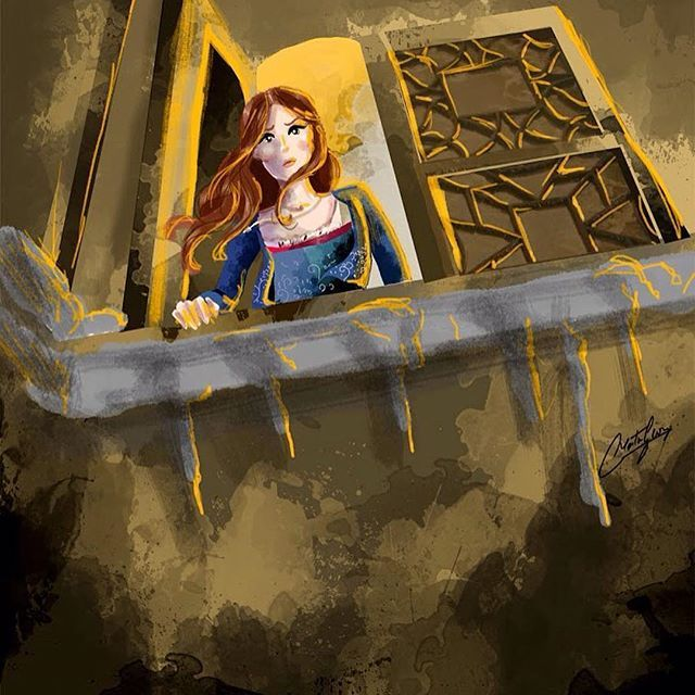 Belle in the Beast's castle at the tower ✨beautiful illustration by @martingeorgillustrations #beautyandthebeast #beautyisfoundwithin #whocouldeverloveabeast #bella #belle #belleoftheball #beauty #emmawatson #emmawatsonbelle #danstevens #danstevensbeast #danstevensevermore #danstevensbeautyandthebeast #danstevens #daysinthesun #taleasoldastime #songasoldasrhyme #princessbelle #princeadam #thebeast #theprince #thecursedprince #theenchantedrose ✨❤️#disney #disneyart #disneymovie ...