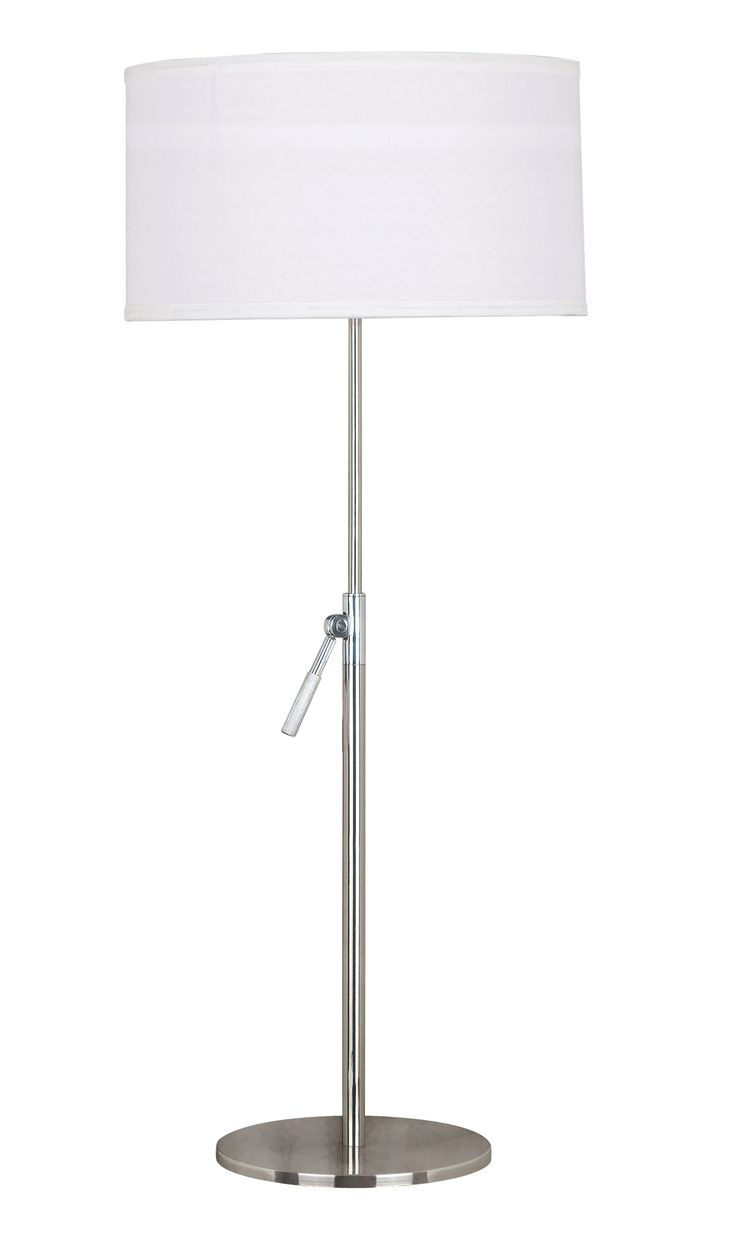 Table lamp height - Propel Table Lamp The Adjustable Height And Simple White Shade Of Propel Makes It One