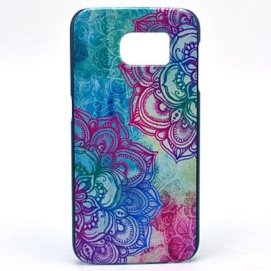 Beautiful Mandalay Flower Pattern Hard Case Cover for Samsung Galaxy S6 - AUD $ 5.71