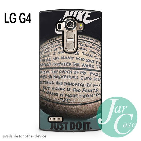 nike basketball quote Phone case for LG G4