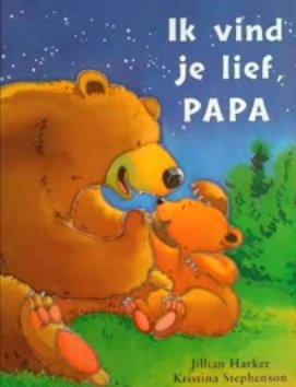 Ik vind je lief papa (digitaal prentenboek)