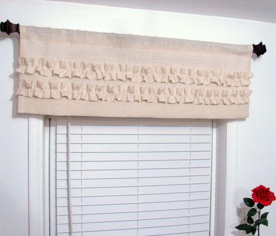 Burlap Curtains, Burlap Window Treatments And